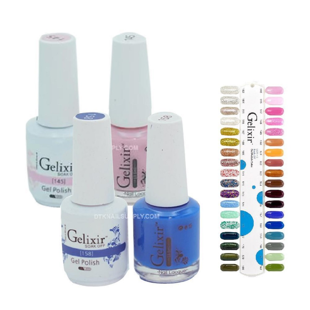 How to Pick Gelixir Polish Colors According to Outfit